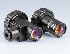 40mm WD, 2X, In-Line Version (Left) and VIS Version (Right)