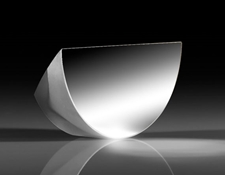25.4mm Enhanced Aluminum Coated λ/10 D-Shaped Pickoff Mirror, #36-135